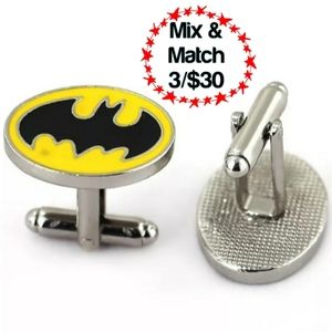 🔹️Batman Gotham City Cuff Links